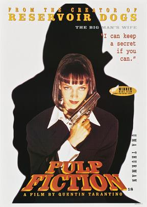 Криминальное чтиво / Бульварное чтиво / Pulp Fiction